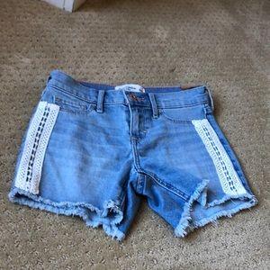 Girls size 9/10 shorts.